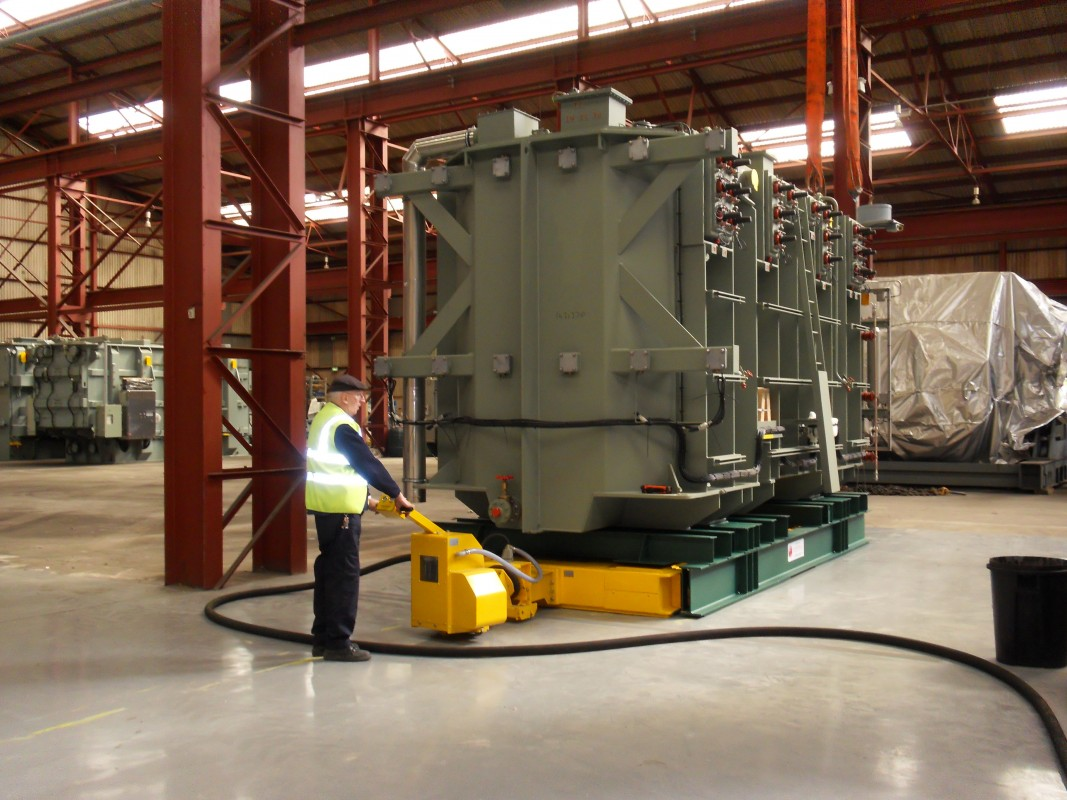 Image 1 of HEAVY GOODS HANDLING AND STORAGE FACILITY